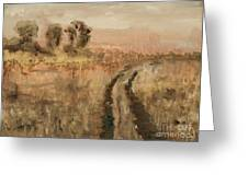 Old Road Greeting Card