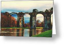 Old Roman Aqueduct Greeting Card