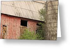 Old Rugged Barn #4 Greeting Card