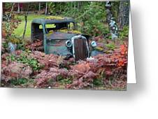 Old Rusty Truck I C1000 Greeting Card
