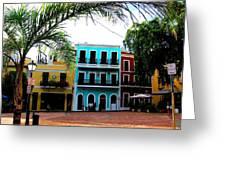 Old San Juan Pr Greeting Card