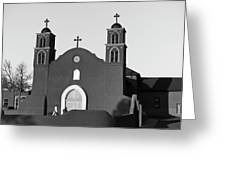 Old San Miguel Mission, Socorro, New Mexico, March 12, 2017 Greeting Card