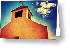 Old Santa Fe Church Greeting Card
