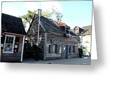 Old School House - St Augustine Greeting Card