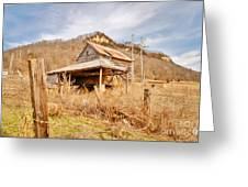 Old Shack Greeting Card