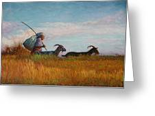 Old Shepherd Greeting Card