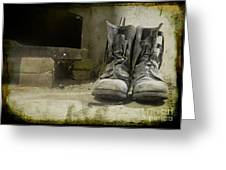 Old Shoes Greeting Card
