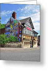 Old Silk Mill - Derby Greeting Card