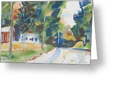 Old Slocum Road Greeting Card