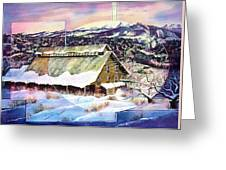 Old Stelty Packing Shed Greeting Card