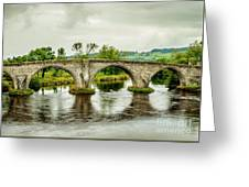 Old Stirling Bridge Greeting Card