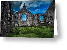 Old Stoer Church Greeting Card