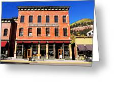 Old Telluride Greeting Card