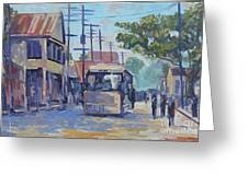 Old Time Kingston  Series Greeting Card
