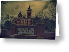 Old Time Samford Hall Greeting Card
