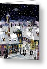 Old Time Winter Greeting Card