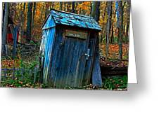Old Tool Shed Greeting Card