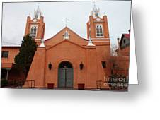 Old Town Church Greeting Card