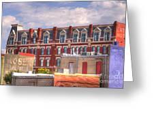 Old Town Wichita Kansas Greeting Card