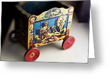 Old Toy Greeting Card
