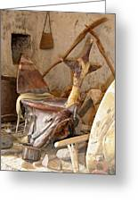 Old Tradtional Libyan Tools Greeting Card