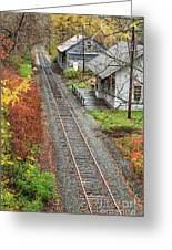 Old Train Station Norwich Vermont Greeting Card