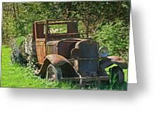 Old Truck II C1002 Greeting Card