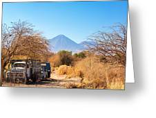 Old Truck In San Pedro De Atacama Greeting Card