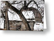 Old Ulm Barn Greeting Card