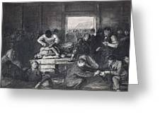 Old Varsity Men Break In And Give Advice, First State By George Bellows  Greeting Card