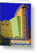 Old Ventura Theater Greeting Card