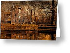 Old Village - Allaire State Park Greeting Card