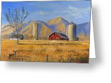 Old Vineyard Dairy Farm Greeting Card