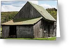 Old Virginia Barn Greeting Card