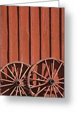 Old Wagon Wheels IIi Greeting Card