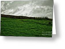 Old Wall, New Gate Greeting Card