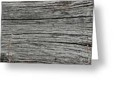 Old Weathered Wood Board Greeting Card