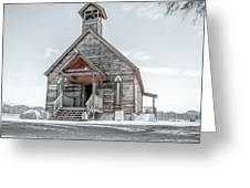 Old West Church Greeting Card