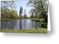 Old Westbury Gardens Tranquility Greeting Card