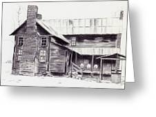 Old Willard Home Greeting Card