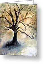 Old Wise Tree Greeting Card