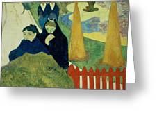 Old Women Of Arles Greeting Card