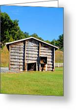 Old Wooden Barn  Greeting Card
