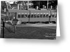 Old Ybor City Trolley Greeting Card