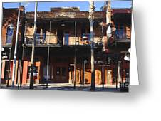 Old Ybor Greeting Card