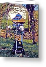 Oldenburg Fireplug Greeting Card