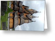Oldest Church In Norway Greeting Card