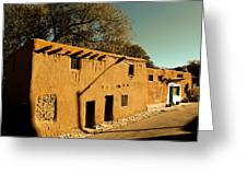 Oldest House In Santa Fe Greeting Card