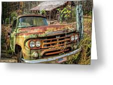Oldie But Goodie 1959 Dodge Pickup Truck Greeting Card