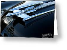 Old's 88 Hood Ornament  Greeting Card